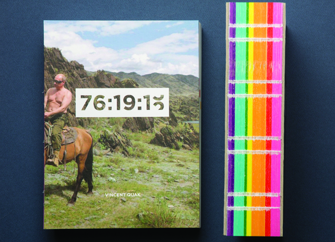 voorzijde en rug boek Putin